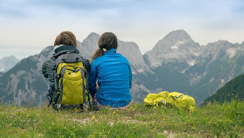 Hiking trip in the Julian Alps, Slovenia