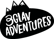 3glav Adventures logo black