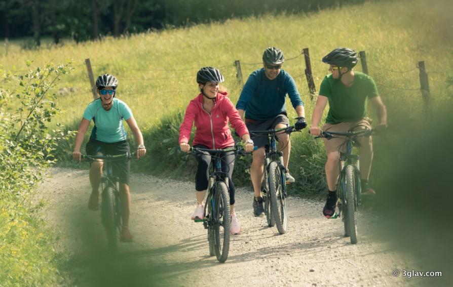 Biking trip in Bled, Slovenia