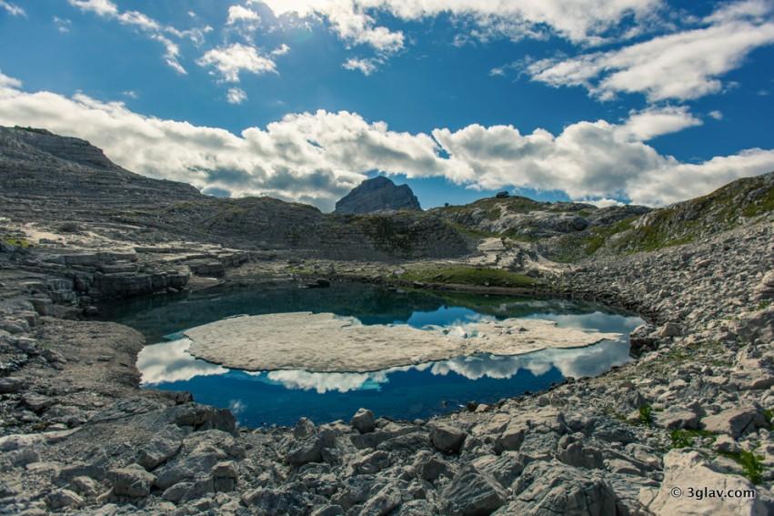Hiking, Slovenia, Seven lakes valley