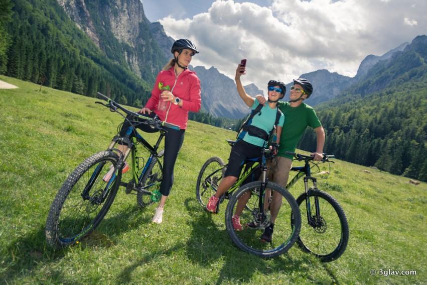 Mountain bike tour, Slovenia, Radovna valley