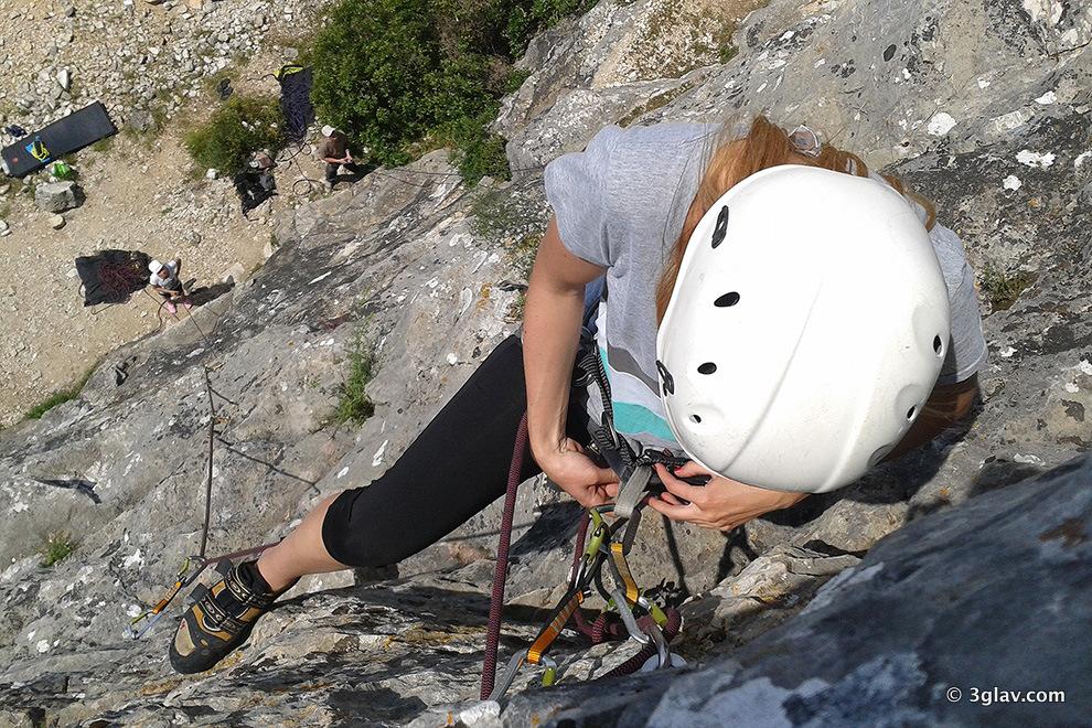 Rock climbing courses around Merano