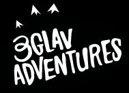 3glav Adventures logo black