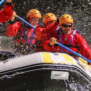 Rafting Soca river trip with 3glav Adventures, Slovenia