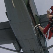 Tandem skydiving, Bled, Slovenia, 3glav
