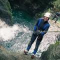 Abseiling Jereka canyon Bled