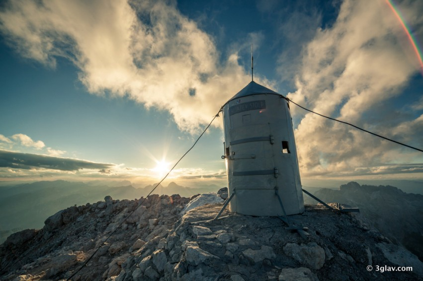Mountaineering, Triglav summit, Aljaz tower