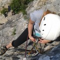 Rock climbing, Slovenia, Bled