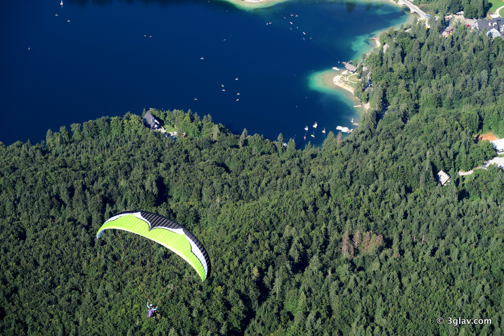 3glav Adventures :: ~ AMAZING PARAGLIDING ~ Bled, Slovenia :)